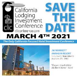 5th Annual California Lodging Investment Conference Sets In-Person Event!